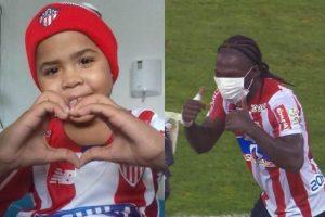 Falleció Rodolfo, el niño juniorista al que Yimmi Chará le dedicó un gol