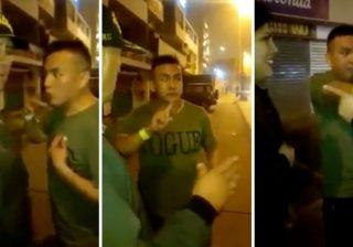 """Borracho dice que su novia lo quiere """"violar"""" y pide ser arrestado para no ir con ella"""