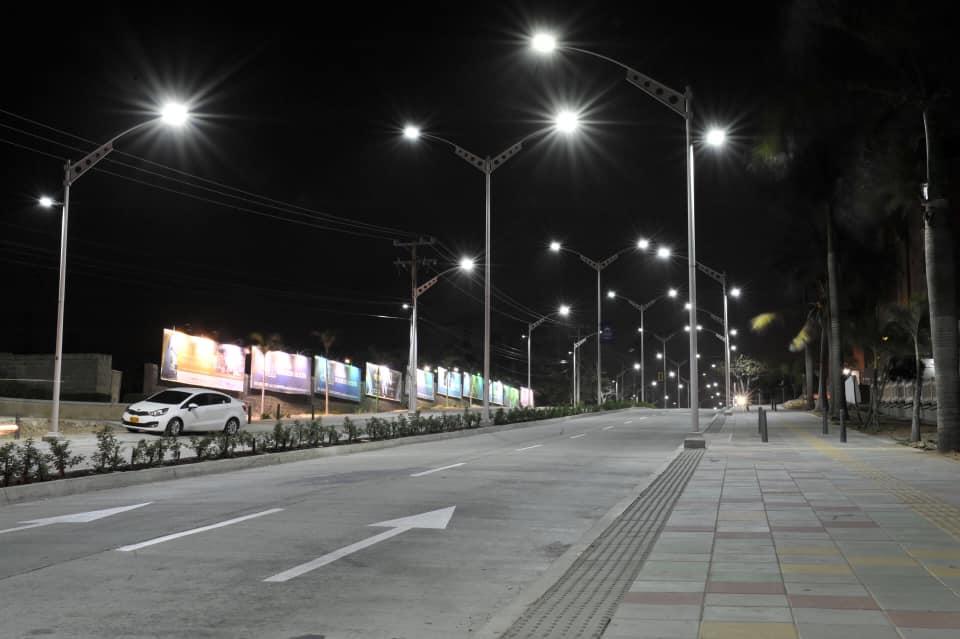 A finales del 2019, nuestra ciudad será la número uno en toda Latinoamérica con Alumbrado LED con una cobertura del 100 por ciento, convirtiéndose en la primera ciudad en tener este sistema en toda su totalidad.