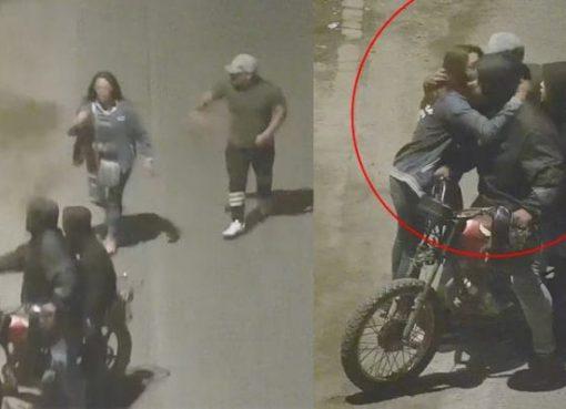 Rateros roban a mujer pero se dan cuenta que es una vecina y le piden perdón