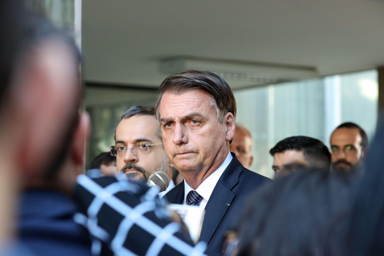 Presidente de brasil Jair Bolsonaro