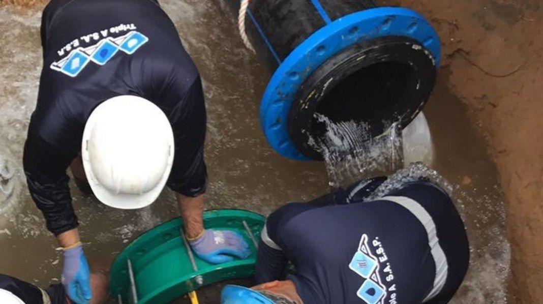 La empresa de acueducto, aseo y alcantarillado de Barranquilla, Triple A, la Alcaldía de Barranquilla, la Gobernación del Atlántico y la empresa continúan trabajando en la modernización e infraestructura para poder prestarles a los usuarios y a los barranquilleros un mejor servicio, el día de hoy la empresa comenzó el llenado de 2.500 metros cúbicos de agua potable del nuevo Tanque de 7 Abril.
