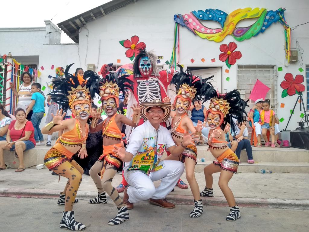 Alcides Romero, fue elegido Rey Momo del Carnaval de Barranquilla 2020