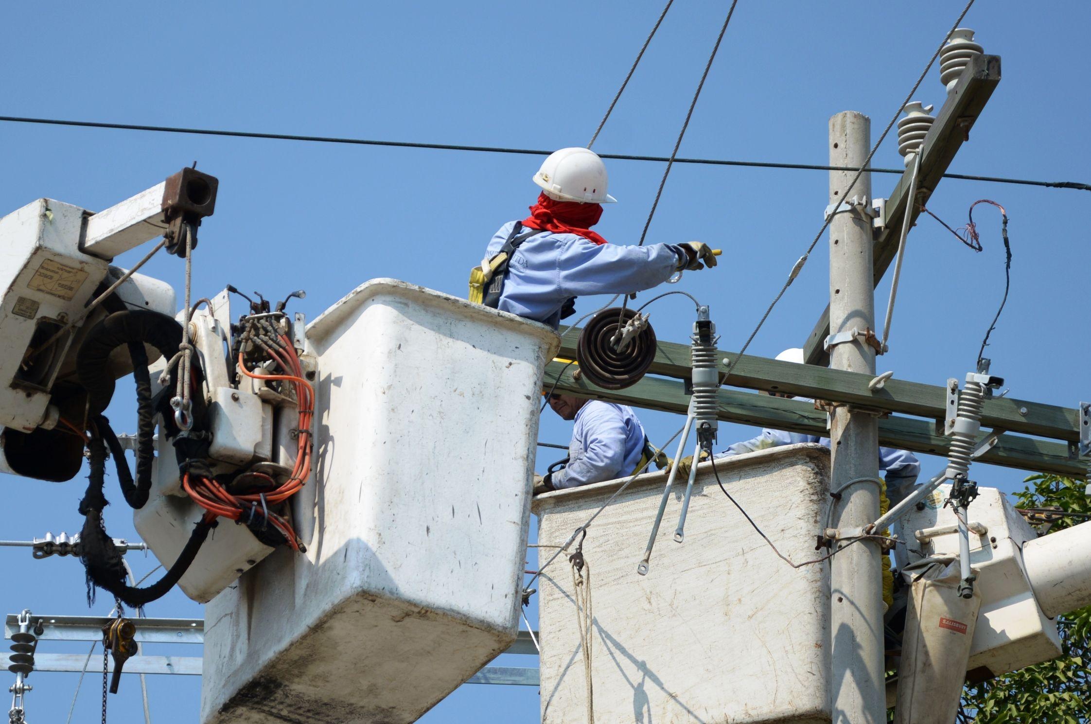 La empresa de energía Electricaribe mencionó en su comunicado que la falta del servicio de luz se debe a los trabajos de mantenimiento que se harán desde las 6:45 am hasta las 6:00 pm.