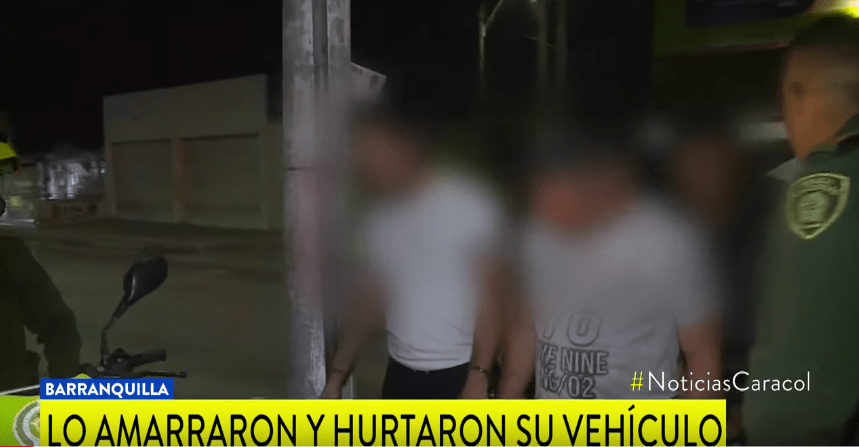El hombre fue engañado a través de la aplicación de transporte InDriver. Los asaltantes se hicieron pasar por usuarios de la app y aprovecharon para realizar sus fechorías, robándose el vehículo y todo a su alcance.