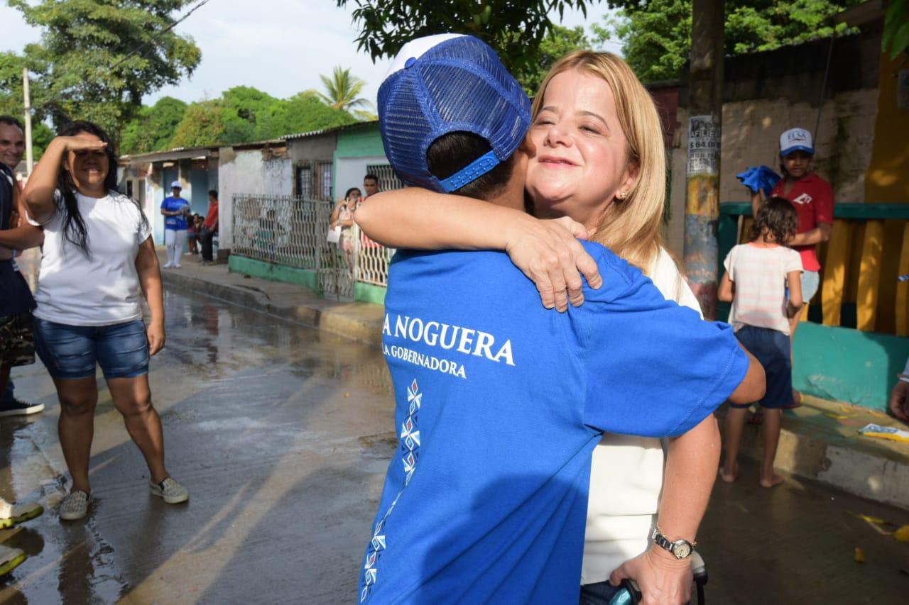 Según Invamer, Elsa Noguera alcanza un 70% de intención de voto frente a un 18% del segundo candidato