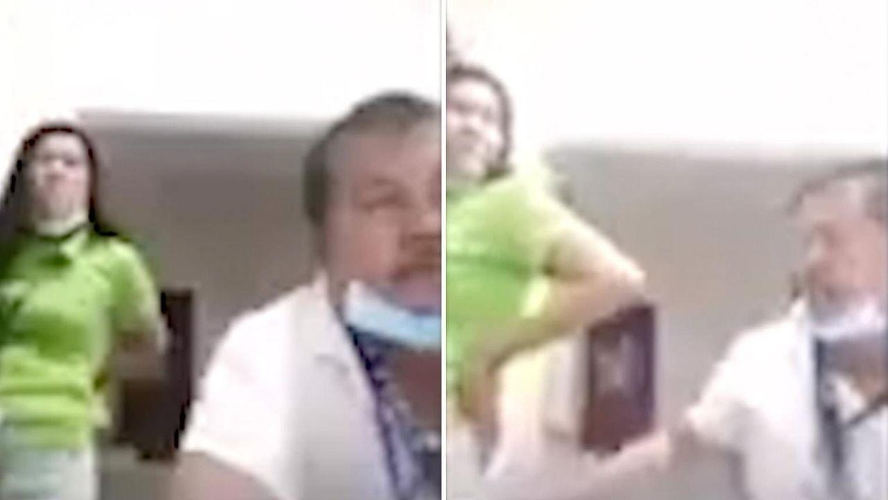 Un funcionario público del ayuntamiento de Fátima Dos, de la ciudad de Cavite en Filipinas, se hizo viral en las redes sociales, luego de ser sorprendido en cámara teniendo relaciones con una de las empleadas de esta entidad estatal