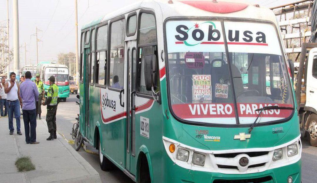Vainas que solo a mí me pasan en Barranquilla, EL CHOFER DE SOBUSA