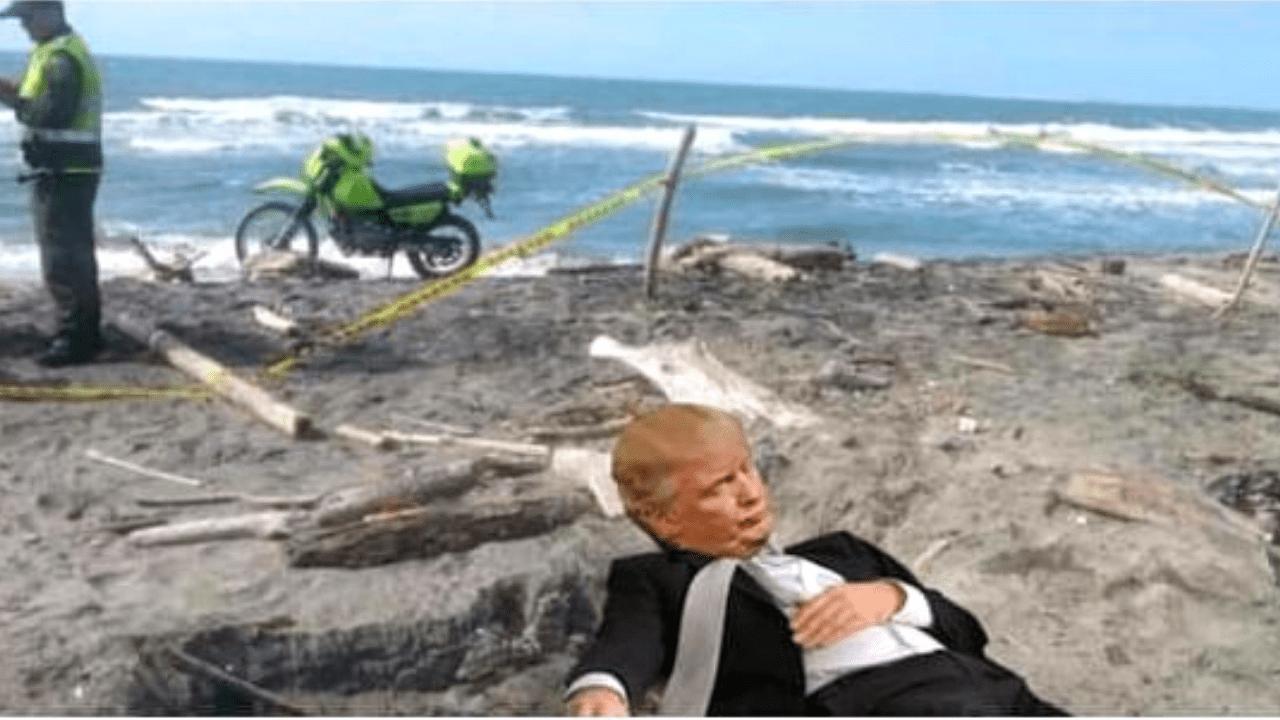 Misteriosamente encuentran a un hombre alto y mono flotando en las aguas de Puerto Mocho.