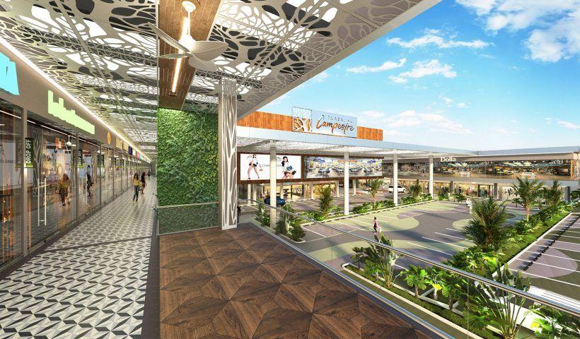 Serán $60.000 millones de pesos invertidos en este nuevo centro comercial. Generará 530 puestos de trabajo en sus operaciones. Es el primero de su tipo en obtener la certificación leed e instalar paneles solares para generar su propia energía.