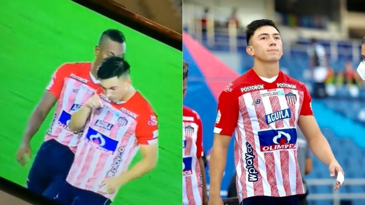 El día de ayer mientras se jugaba el partido entre el Junior de Barranquilla contra el Atlético Huila, el canal deportivo que transmite los partidos del fútbol profesional colombiano, hizo un paneo con la cámara a dos jugadores, pero un gesto del centrocampista Fabián Ángel, generó controversia entre algunos televidentes.