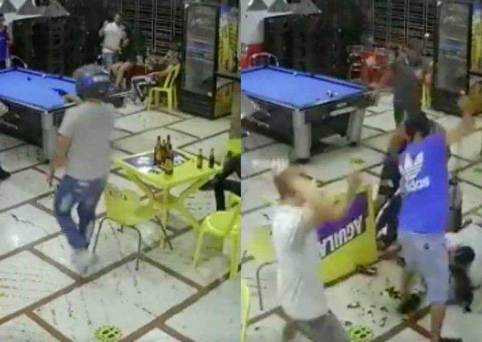 El hecho se presentó en la ciudad de Cúcuta. Al joven lo atacaron con palos y a bala, al parecer, con la misma arma de fuego que tenia.