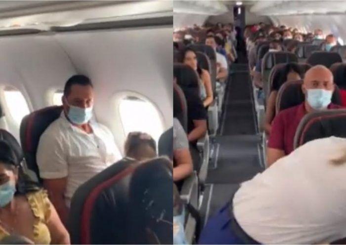 Según la aerolínea, el bebe tiene más de la edad de los permitido. El usuario logró recaudar $200,000 pesos para que no lo bajaran.